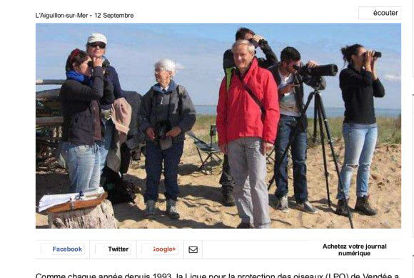 Camp de migration : on en parle dans la presse