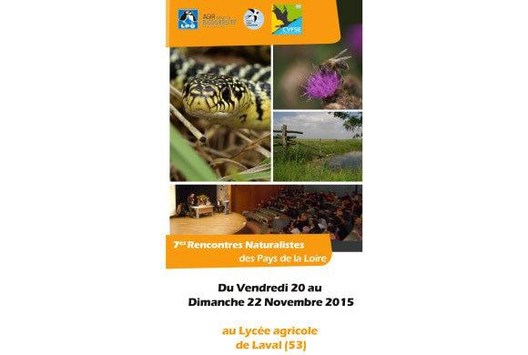 7e Rencontres Naturalistes des Pays de la Loire