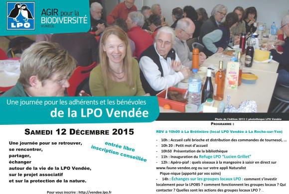 J-10 avant la journée des adhérents et des bénévoles LPO