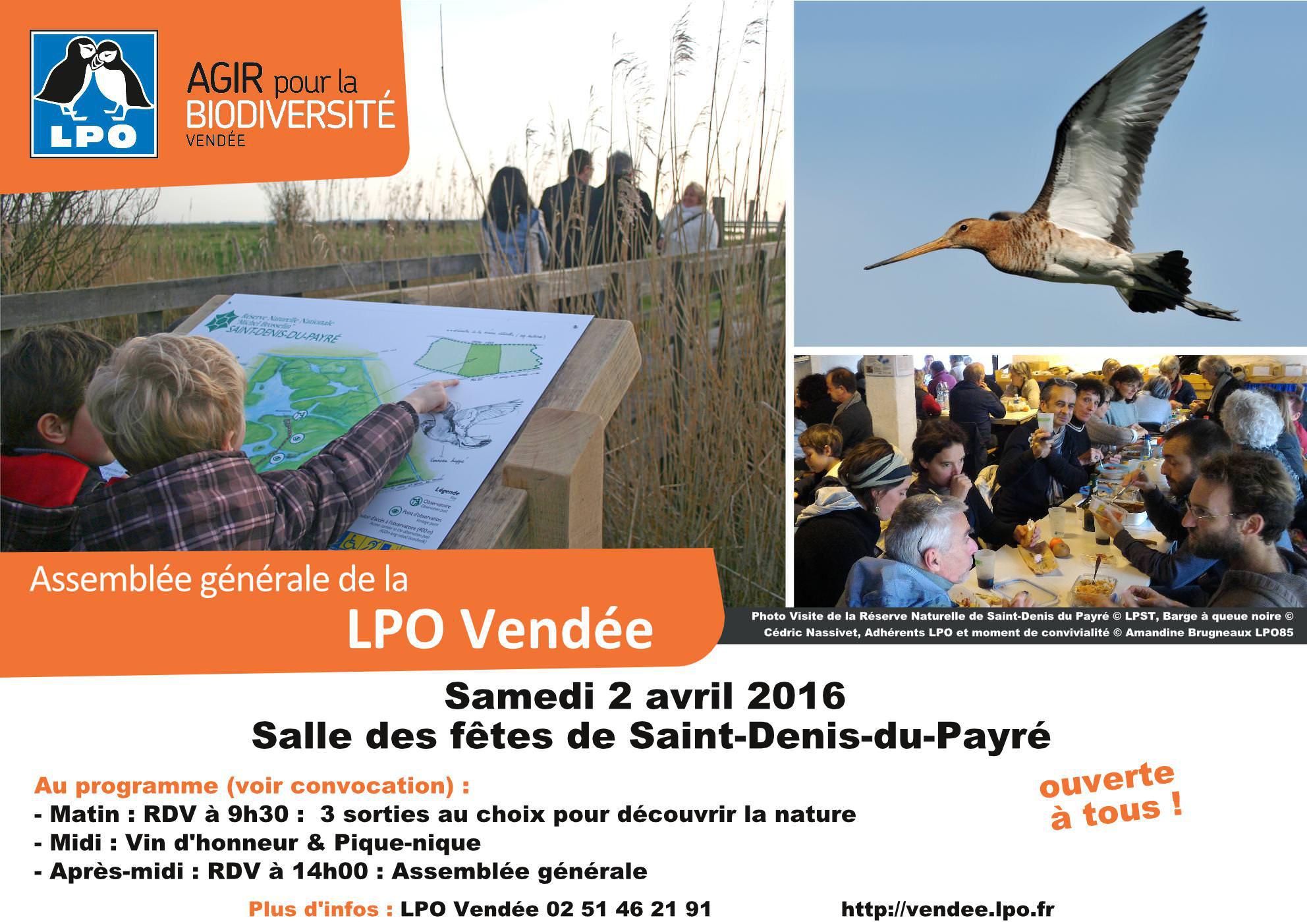 Assemblée Générale de la LPO Vendée