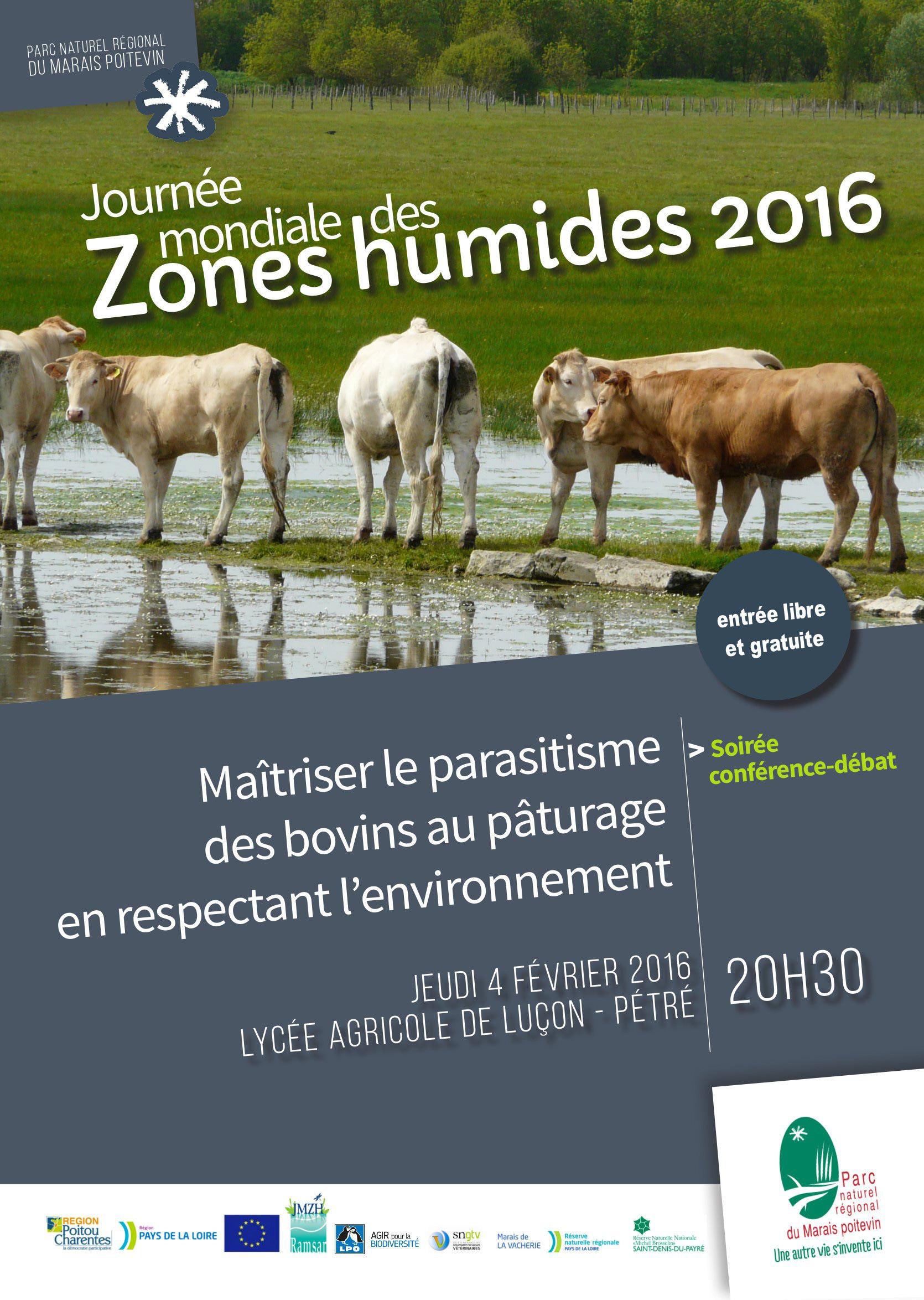 """Conférence """"Gestion du parasitisme en zone humide"""""""