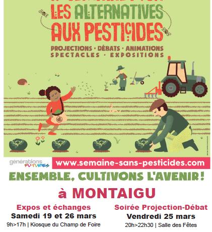 La Semaine pour les alternatives aux pesticides, c'est en ce moment !