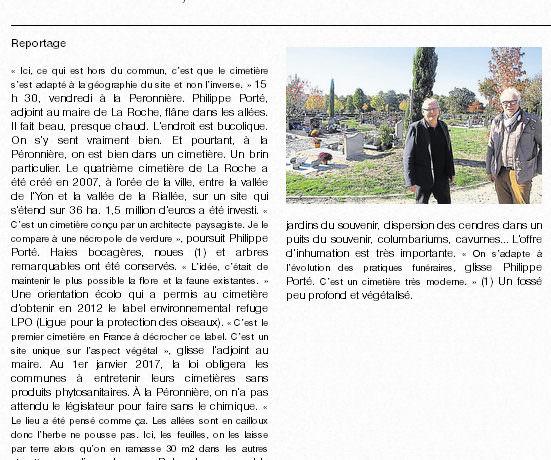 Refuge LPO du cimetière paysager de la Péronnière