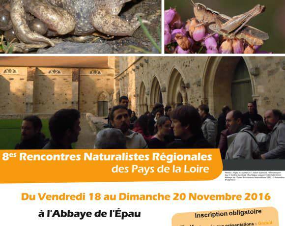 8e Rencontres Naturalistes des Pays de la Loire