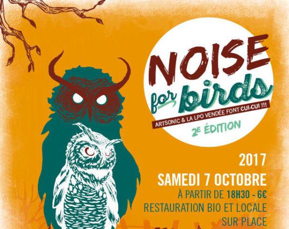 Noise for birds #2 : Pourquoi la LPO Vendée organise un concert ?