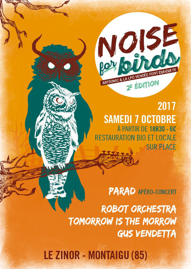 Concert Noise for birds