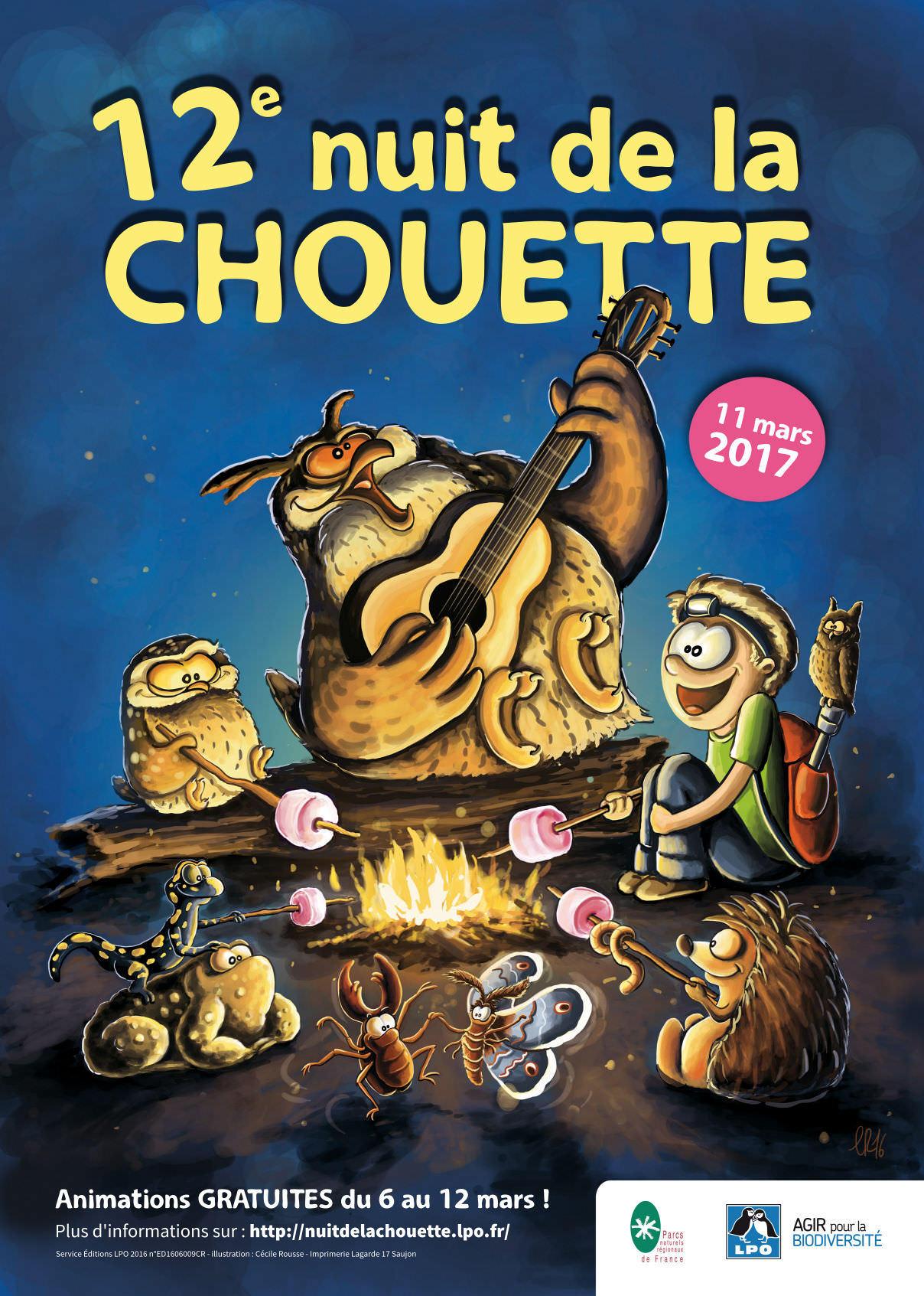Nuit de la Chouette à Beaulieu-sous-la-Roche