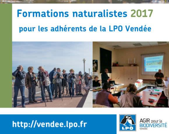 Des formations naturalistes pour les adhérents LPO Vendée