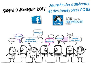 Journée des adhérents et des bénévoles de la LPO Vendée
