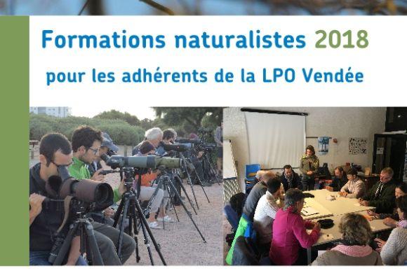 Formations naturalistes pour les adhérents LPO