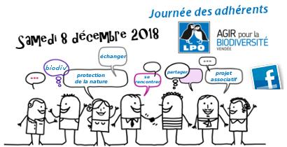 Journée des adhérents et des bénévoles LPO85