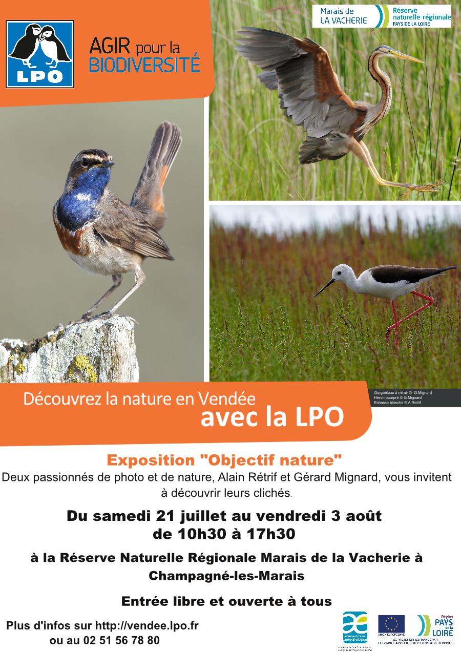 "Expo photos ""Objectif nature"""