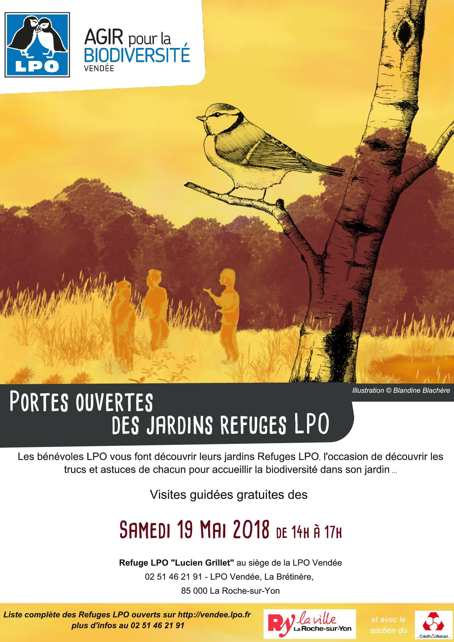 Portes ouvertes Refuge LPO à La Roche-sur-Yon