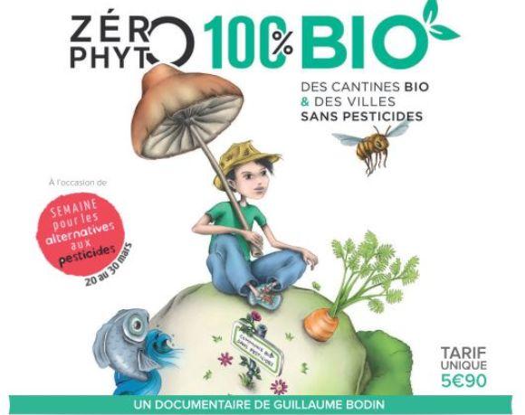 Soirée ciné débat pour la semaine pour les alternatives aux pesticides