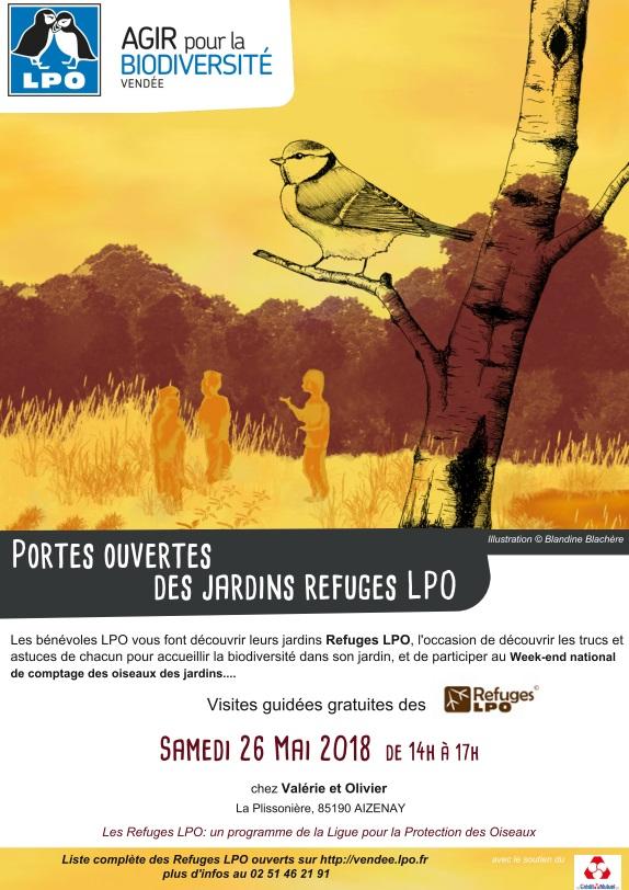 Portes ouvertes Refuge LPO à Aizenay