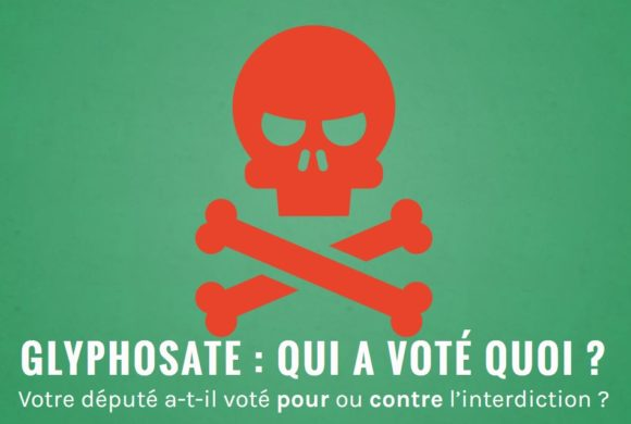 Vote pour l'interdiction du glyphosate