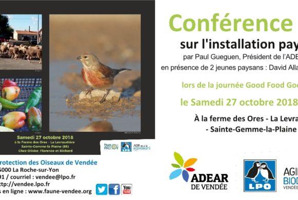 Conférence sur l'installation paysanne