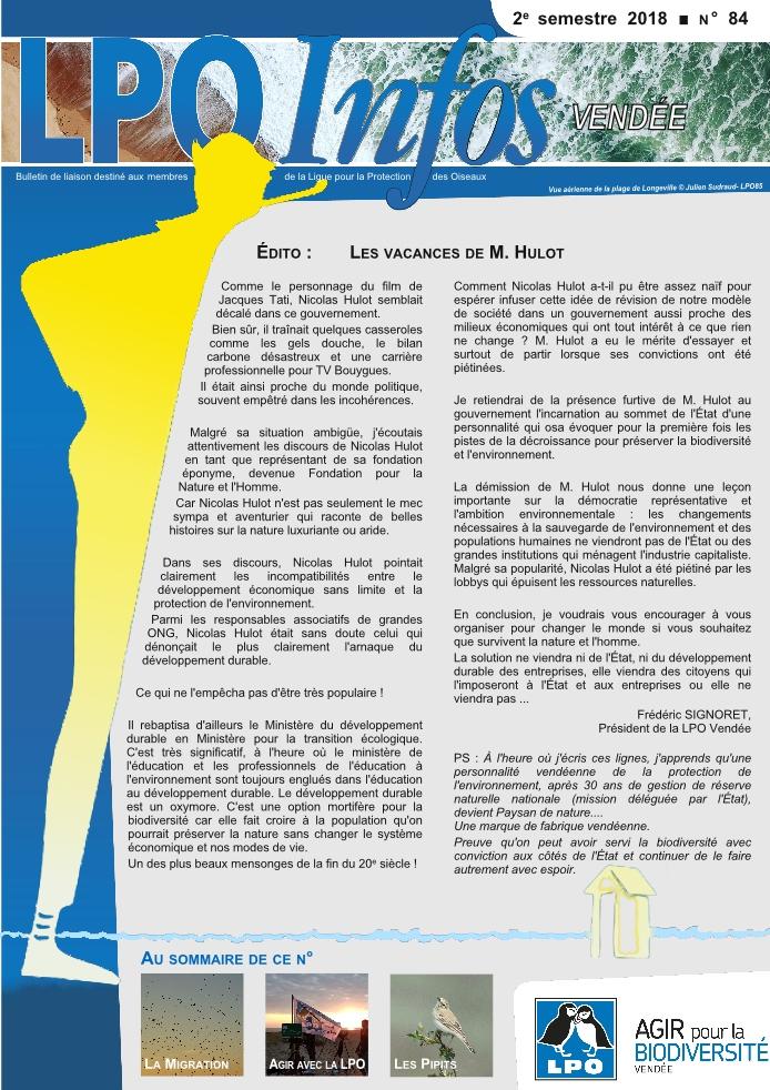 LPO infos (Comité de lecture et mise sous pli)