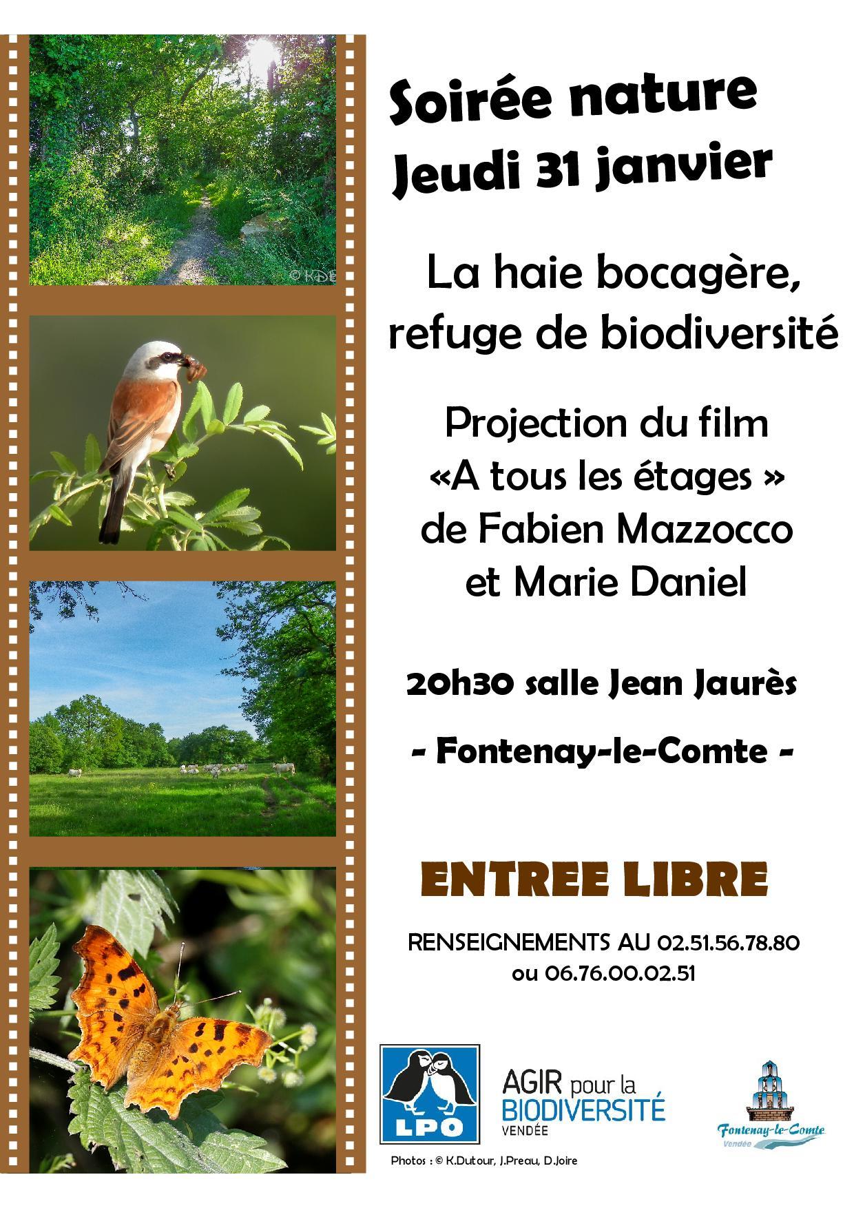 """Soirée nature """"Les haies, refuges de biodiversité"""""""