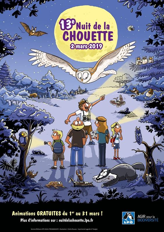 Nuit de la Chouette à Dompierre-sur-Yon