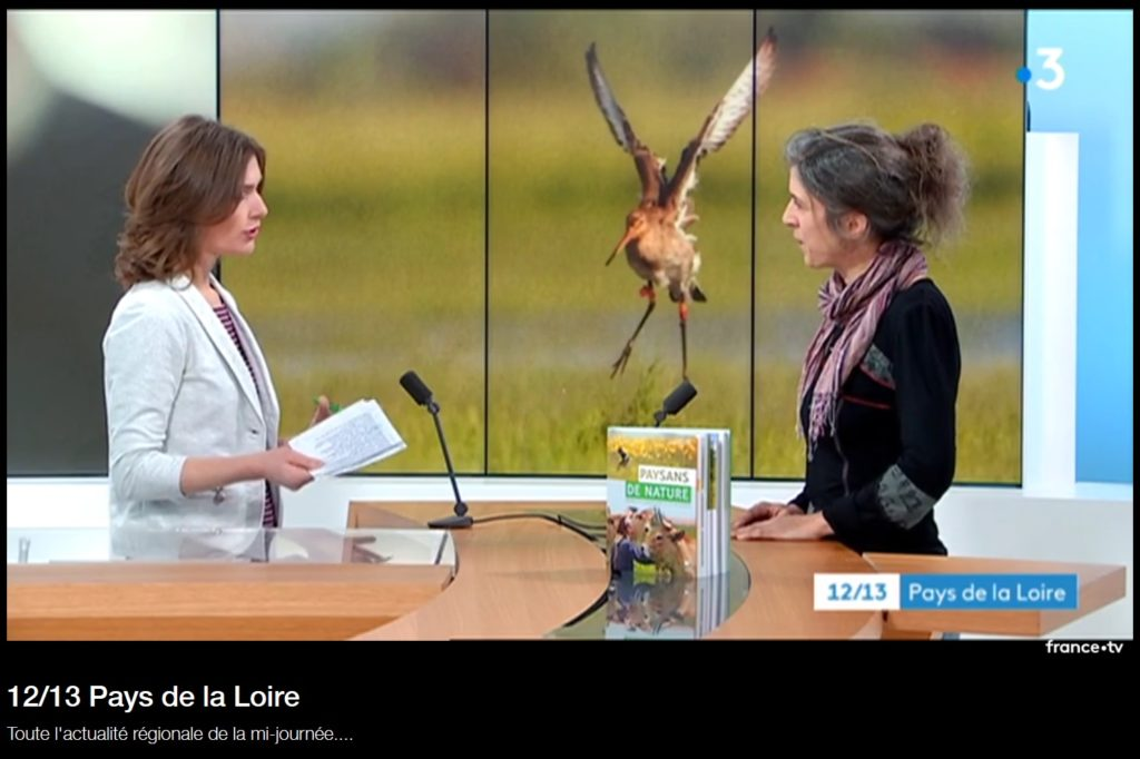 Perrine en direct sur France 3 Pays de la Loire le 13 mars 2019