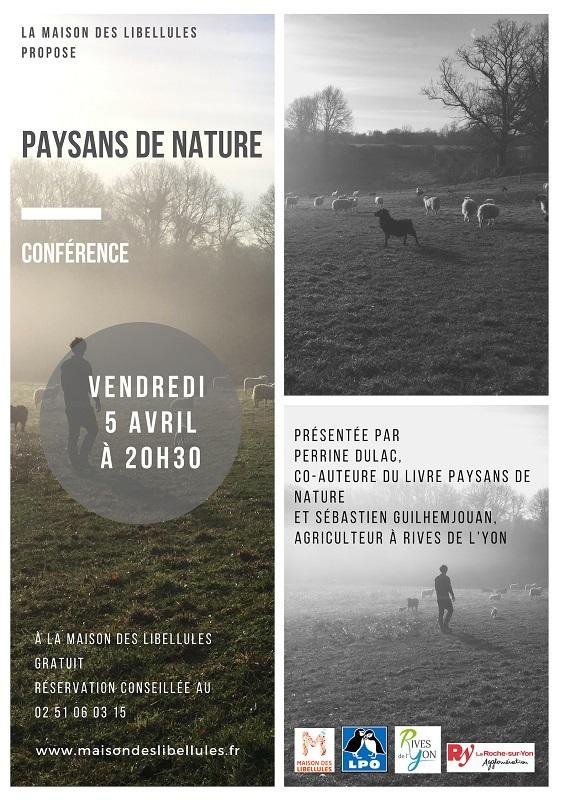 Paysans de nature : rencontres, conférence et dédicace du livre