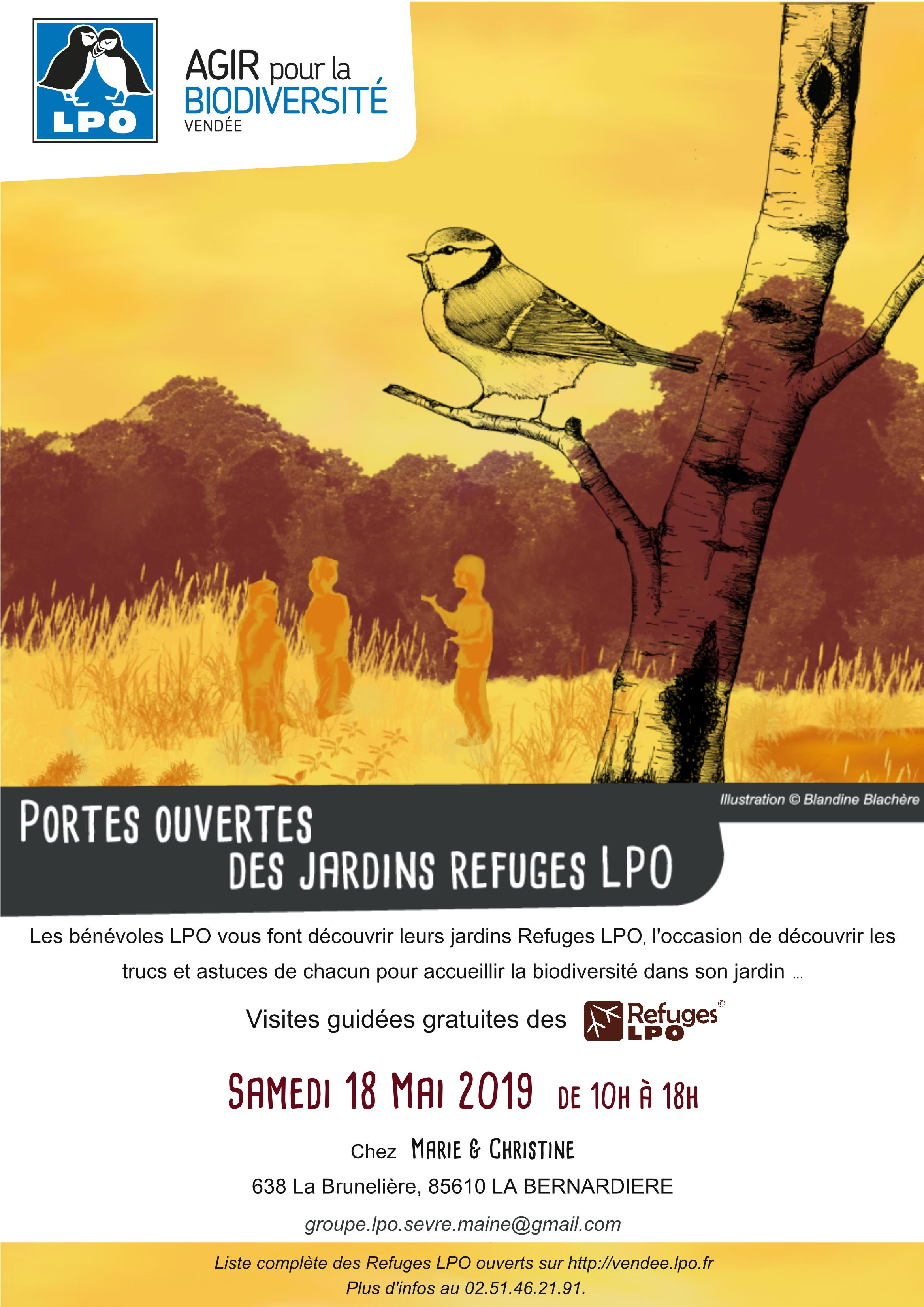 Portes ouvertes du Refuges LPO de Marie et Christine