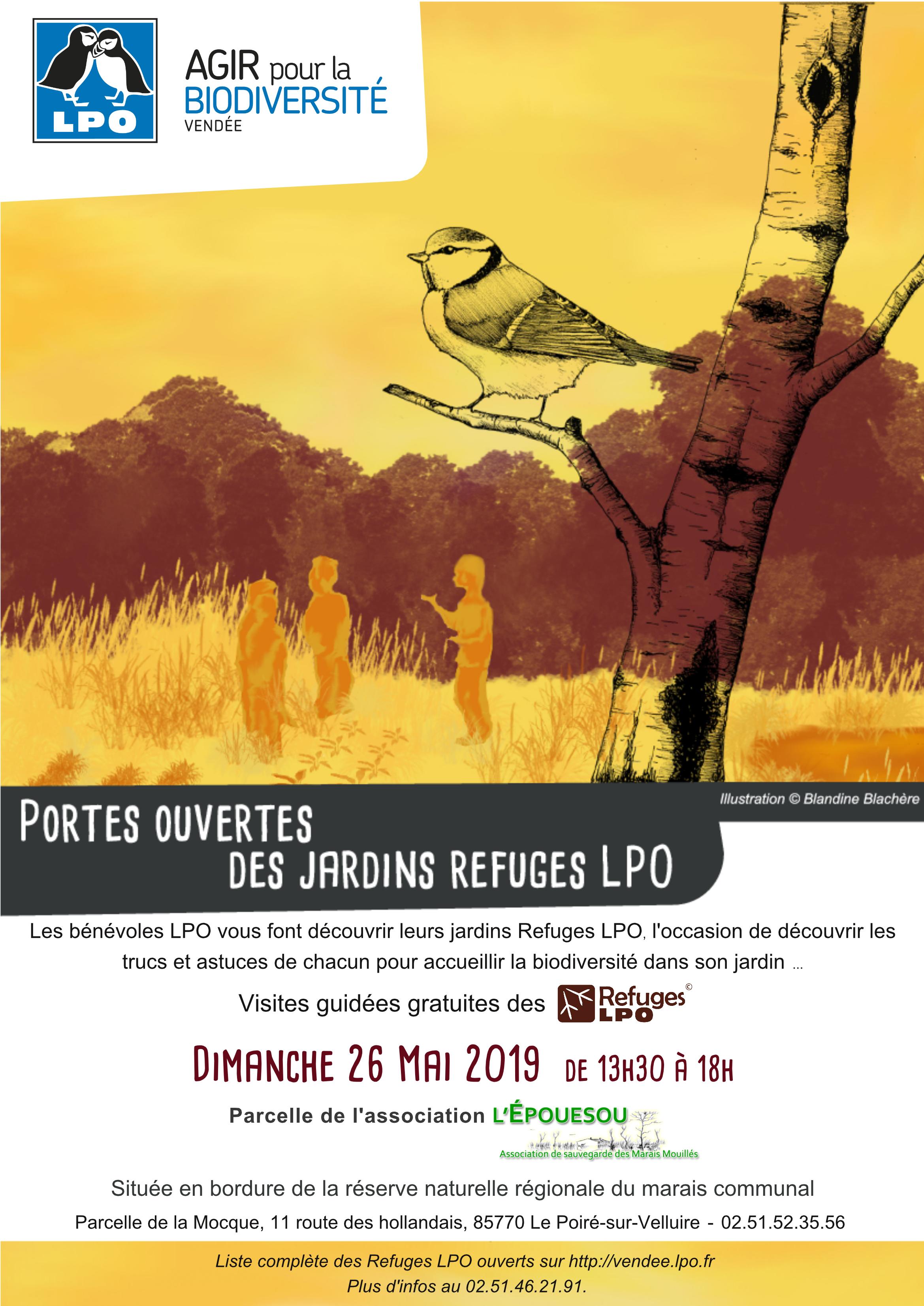 Portes ouvertes du Refuges LPO de l'association l'Epouésou