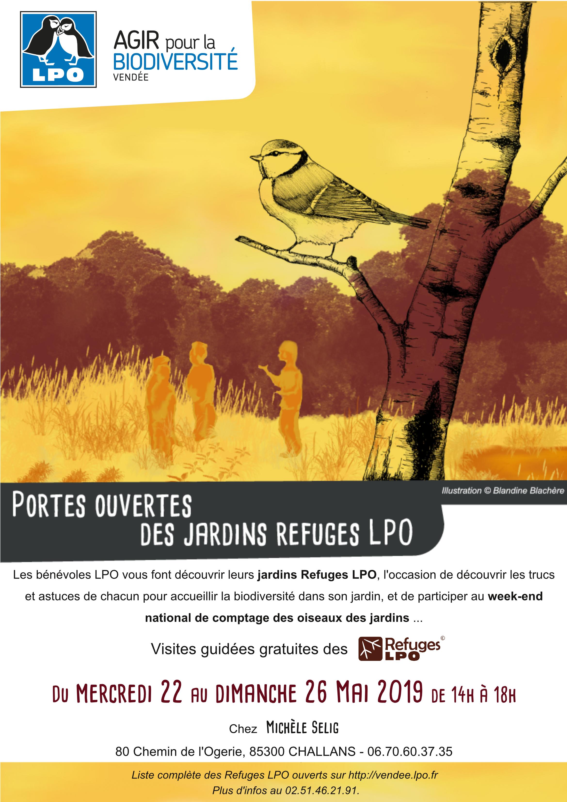 Portes ouvertes du Refuge LPO de Michèle