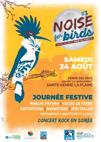 Noise for birds #3 : Organisation d'une journée festive à la ferme des Ores