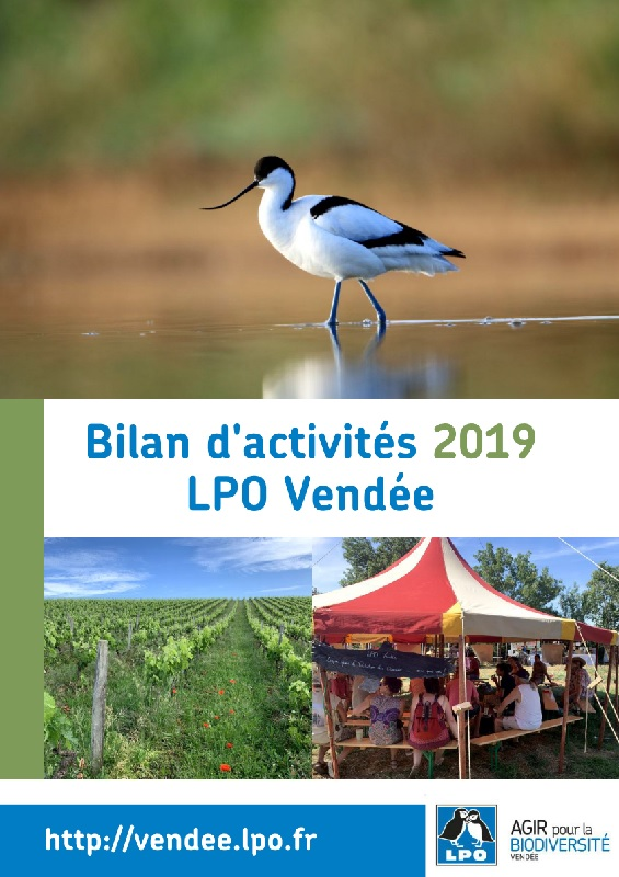 Bilan d'activités 2019 de la LPO Vendée