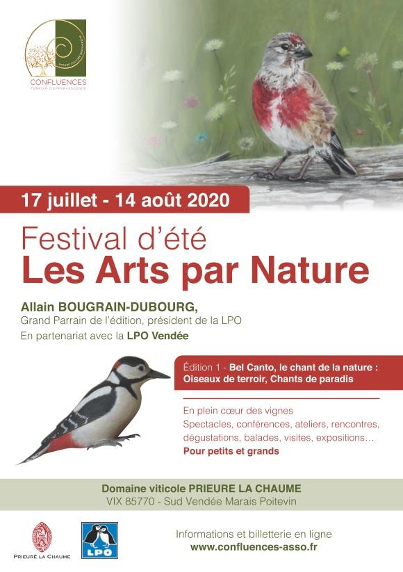 """Festival d'été """"les arts par nature""""  : Drôles d'oiseaux au Prieuré La Chaume"""