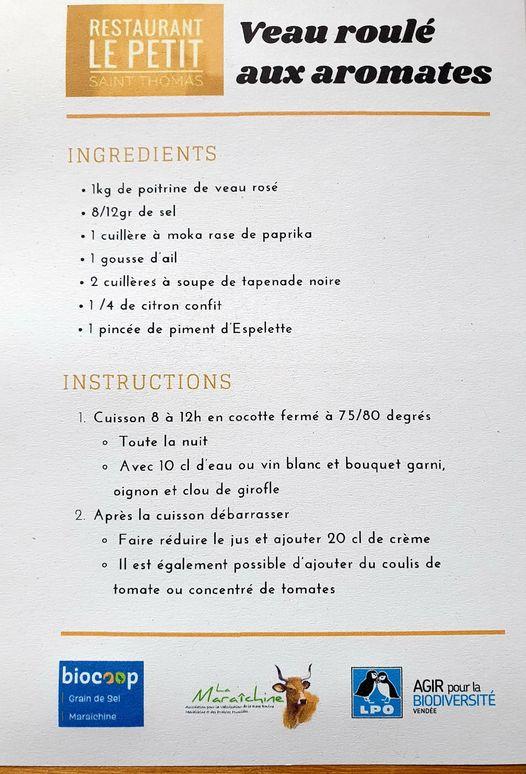 """Recette à base de viande maraîchine, une viande à plus value """"biodiversité"""" - photo © Biocoop Maraîchine"""