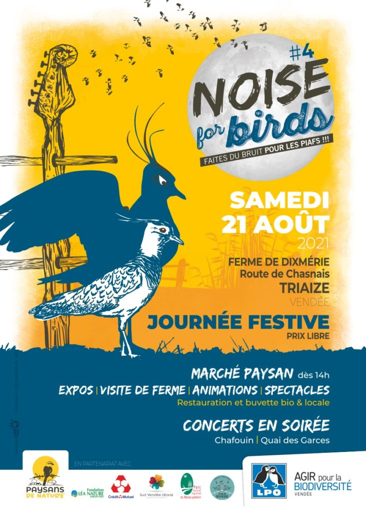 Noise for birds #4 Samedi 21 août 2021