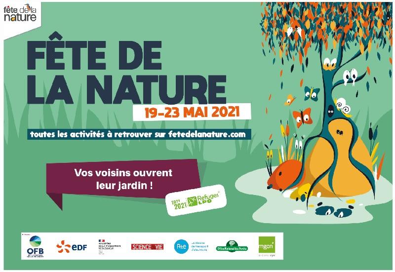 Portes ouvertes Refuges LPO 2021 et fête de la nature du 19 au 23 mai