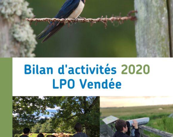 Bilan 2020 de la LPO Vendée