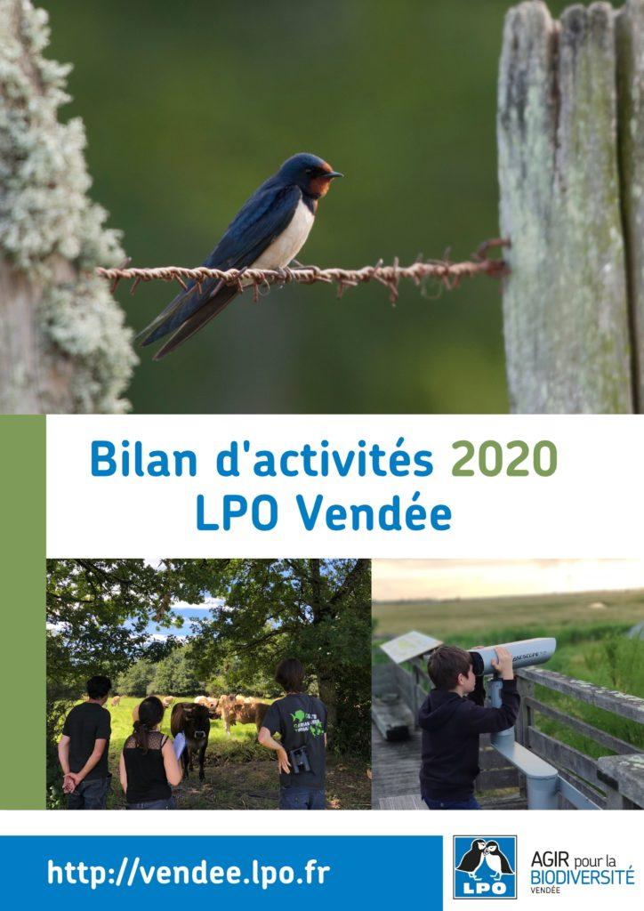 Bilan d'activités 2020 de la LPO Vendée