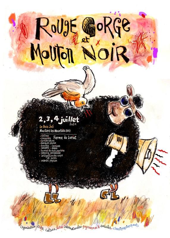 Festival Rougegorge et Mouton noir