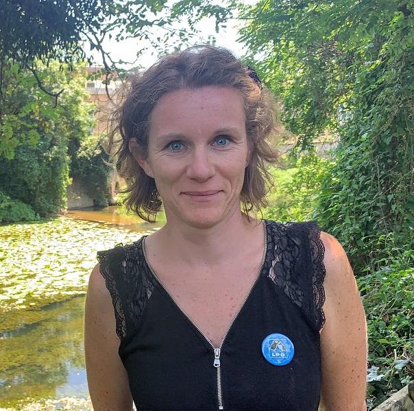 Amandine Brugneaux, chargée de communication de la LPO Vendée
