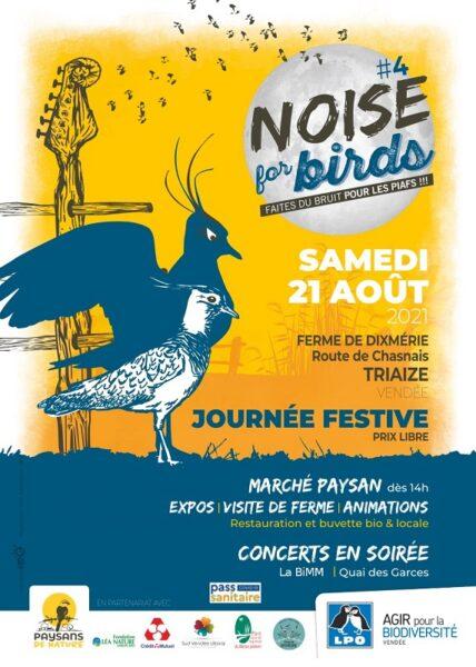 Noise for birds #4 : Organisation d'une journée festive à la ferme de Dixmérie